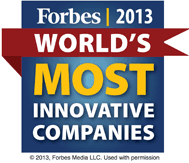 Forbes 2013 List of The World's Most Innovative Companies