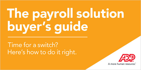 The payroll solution buyer's guide