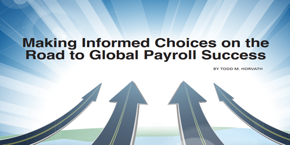 Making Informed Choices on the Road to Global Payroll Success
