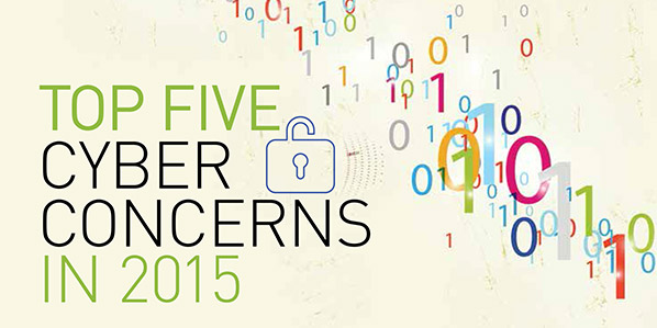 Top 5 Cyber Concerns in 2015