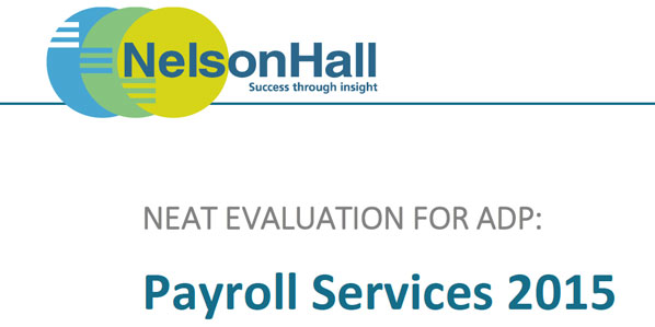NelsonHalls Annual Vendor Evaluation and Assessment NEAT – Vendor Evaluation