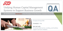 Compass Group USA: Unifying Human Capital Management Systems to Support Business Growth