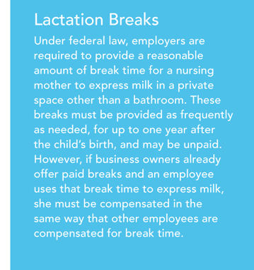 Lactation Breaks