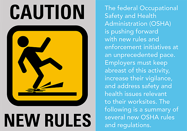 Don't Be Caught Off Guard by OSHA's New Rules