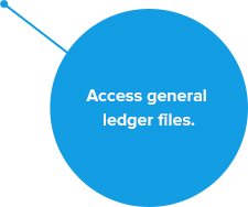 Access general ledger files