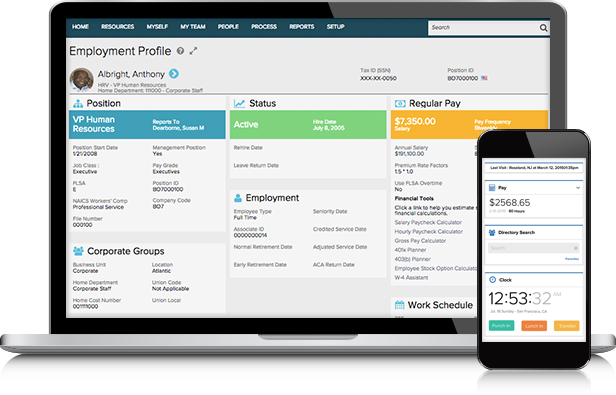 ADP Midsized Business Solutions Product Selector