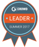 HR Management Suites, Core HR, Performance Management, and Applicant Tracking Systems Leader - G2 Crowd 2017 Award
