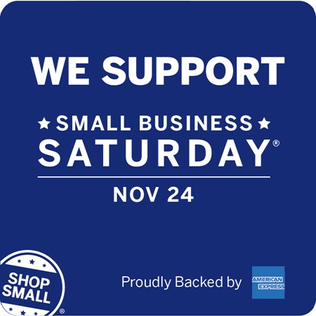 We Support Small Business Saturday