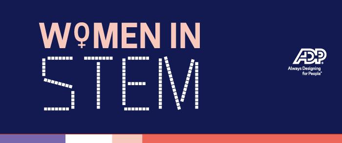 ADP Women in STEM banner