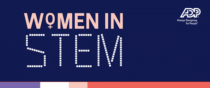 ADP Women in STEM graphic