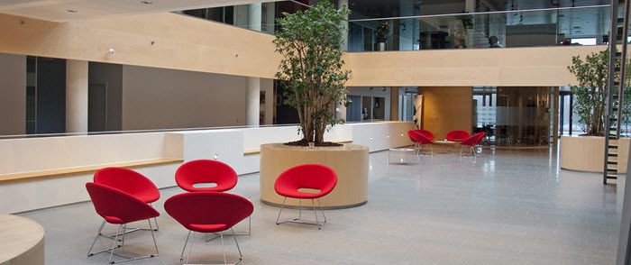 Attrayant Busy Commercial Interior Design Firm Maximizes Efficiency ...