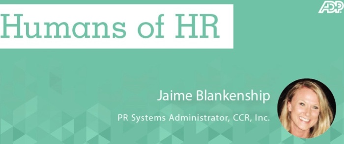 Humans of HR: Jaime Blankenship