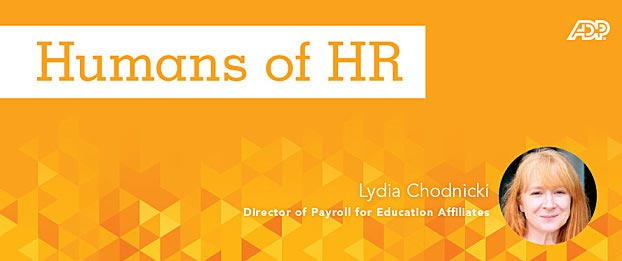 Featured Image for Humans of HR: Lydia Chodnicki