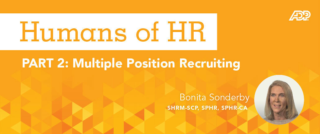 Featured Image for Humans of HR: Multiple Position Recruiting
