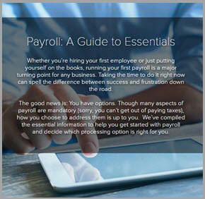 Payroll: A Guide to Essentials