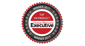 Human Resource Executive's Top HR Product award for 3 consecutive years