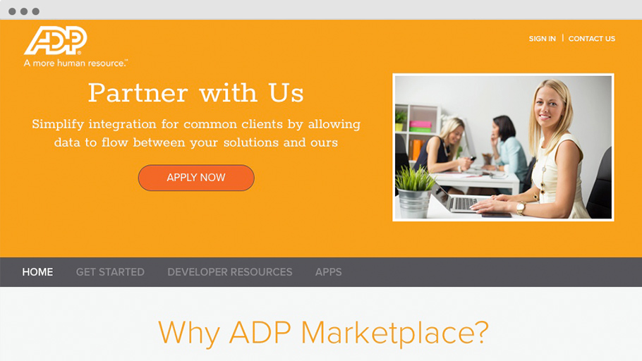 Partner with ADP® Marketplace