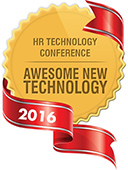 HR Technology Conference Awesome New Technology award for 2016.