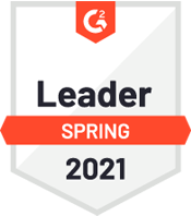 G2 Crowd Leader Spring 2018 award.
