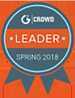 G2 Crowd Leader Spring 2018 award