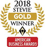 2018 American Business Awards Gold Stevie Winner
