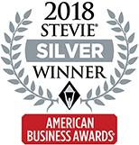 2018 American Business Awards Silver Stevie Winner
