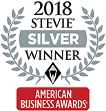 2018 American Business Awards Silver Stevie Winner