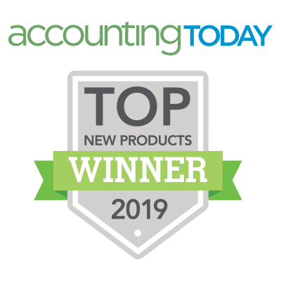 Accounting Today Top New Products award for 2017