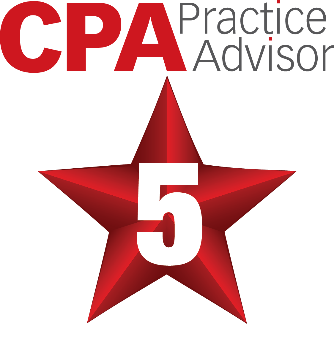 2018 CPA Practice Advisor 5 star rating