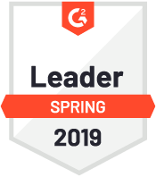 G2 Crowd Leader Spring 2018 award
