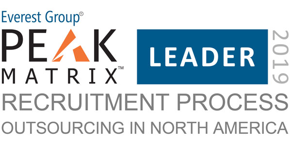 RPO 2019 PEAK Matrix Award Logo Leader