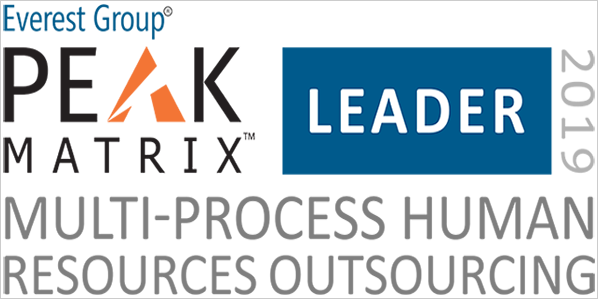 MPHRO 2019 - PEAK Matrix Award Logo - Leader