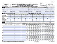 sample form 1095 c