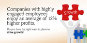 Companies with highly engaged employees enjoy an average of 12% higher profits.  Do you have the right team in place to drive growth?