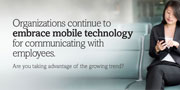Research Provides Valuable Insights into Current Employee Usage of Mobile HR Technology